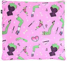 Liquor Brand LIMBS 50s Pillow / KISSENBEZUG - Pink Rockabilly