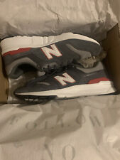 Mens New Balance 997H Running Trainers Grey/Red Size UK 9.5