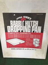 Rabbit Hutch Dropping Pan Little Giant 30 By 36 Inch Wide Model Adp3036