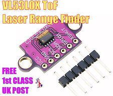 VL53L0X Time-of-Flight I2C Distance Sensor IR Laser GY-VL53L0XV2 Module Arduino
