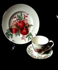 WILLIAMSBURG BOXWOOD & PINE BY LENOX CHINA - ACCENT PLATES -DISCONTINUED