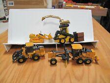 Five 1/50 Scale Models NZG Conrad ERTL Caterpillar John Deere