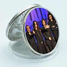 Music Memorabilia Metal Coins Rock Band Silver Coin Festival Souvenirs