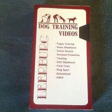 SCHUTZHUND GERMAN SHEPHERD DOGS Promo VHS European Imports 1995