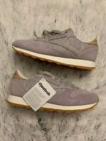Reebok Classic Leather Shoes Sneakers Lavender  BS7952 Size 7.5