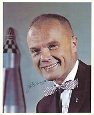 JOHN GLENN SIGNED 8x10 PHOTO 11 - NASA MERCURY ASTRONAUT -  UACC RD AUTOGRAPH