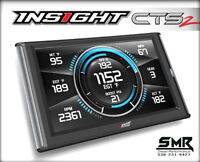 Edge Insight CTS2 Monitor Gauges & Scanner for 2001-2018 Chevy/GMC Duramax 6.6L