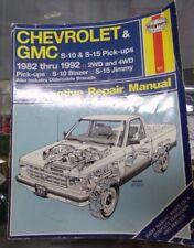Haynes Chevrolet & GMC S-10 Pick-Ups Blazer S-15 Jimmy 1982-1992 #831