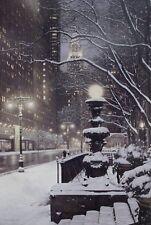 "City Lights - Rod Chase Open Edition City Print 38x24"""