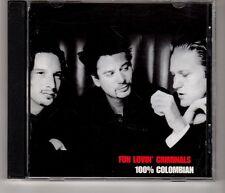 (HJ384) Fun Lovin' Criminals, 100% Colombian - 1998 CD