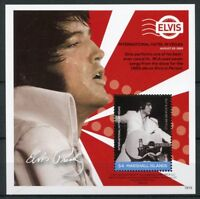 Marshall Isl 2018 MNH Elvis Presley Life in Stamps 1v S/S III Music Celebrities