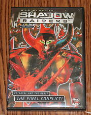 Shadow Raiders Vol. 6: Final Conflict (DVD, 2001) Reboot Animation R1 LIKE NEW