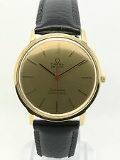 OMEGA De Ville 165. 008 Automatic - 18ct Gold - Vintage 1960s  - Serviced