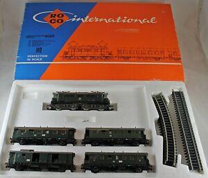 Roco 4026 Zugpackung BR E 144 5-teilig der DB aus Sammlung mit OVP DC