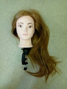 Hairdressers Dummy For Practicing Hairdressing