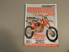 APRIL  2014 MOTOCROSS ACTION MAGAZINE,KTM FACTORY III,HONDA CR250 2 STROKE,SUPER