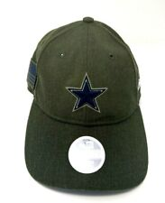 Dallas Cowboys New Era Salute to Service Women's 9Twenty Adjustable Cap NEW