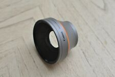 Canon Wide-Converter WD-H43 0.7x Lens 43mm Vixia HD Camcorder Wide Angle Lens