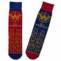 Hallmark DC Comics Wonder Woman Be a Warrior Crew Socks