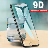 9H Hartglas Displayschutzfolie 9D Curved für iPhone 7 6S 8 Plus X