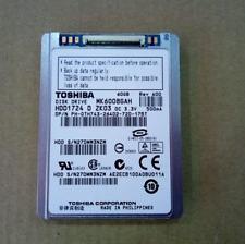 """Toshiba HDD 1.8"""" MK6008GAH 60 GB per Dell Latitude XT D420 D430 Hard Disk Drive"""