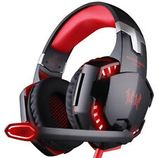 Each G2000 Stereo Bass Surround Gaming Headset for Ps4 Xbox One PC With Mic