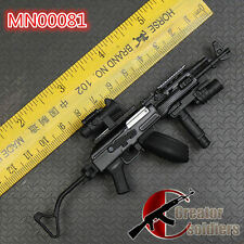 BattleField METAL AKM AK47 AK74M BLACK Assault Rifle  Modern Warfare DRUM MAG