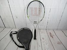 Wilson Titanium Ti Rak Attak 25 Tennis Racquet With Cover Sport Active Fun