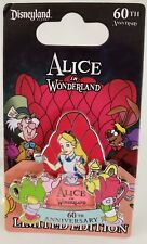 DISNEY THE ADVENTURES OF ALICE IN WONDERLAND 60th ANNIVERSARY LE 2000 PIN