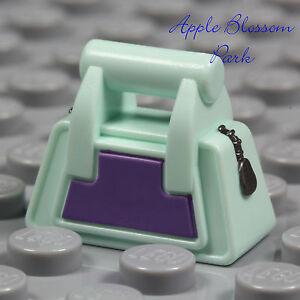 NEW Lego Female Minifig AQUA & PURPLE PURSE - Friends Minifigure Hand Bag Basket