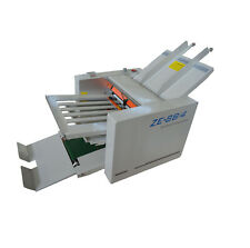 Folding Paper In Different Styles 110v Adjustable Auto Paper Folding Machine New