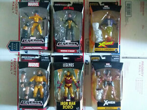 Marvel Legends lot of six action figures  New Sealed Wolverine Cannonball Sentry