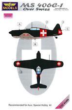 LF Models 1/32 SWISS MORANE SAULNIER MS.406C-1 Camouflage Paint Mask Set