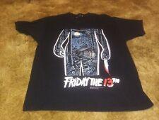 Friday the 13th 2000 vintage horror promo shirt Lg 2 sided Jason Vorhees