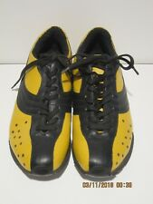 Dolce & Gabbana D&G Made In Italy Men's YELLOW&BLACK Sneakers, Comfort Shoes 39