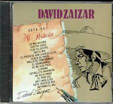 David Zaizar Esta Es Mi Historia   BRAND  NEW SEALED  CD