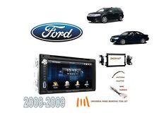 2008-2009 FORD TAURUS, TAURUS X DDIN STEREO KIT, USB TOUCHSCREEN BLUETOOTH DVD