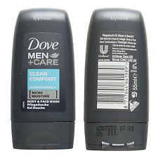 Dove Men+Care BODY & FACE WASH Pflegedusche Clean Comfort 55ml Travelsize
