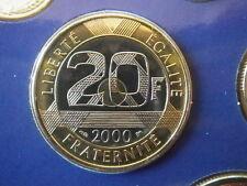 20 Francs ST MICHEL 2000 SCELLE coffret Monnaie Paris BU FLEUR DE COIN FDC NEUF