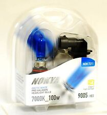 Nokya 9005 Arctic White Headlight Xenon Halogen Light Bulb 7000K S2