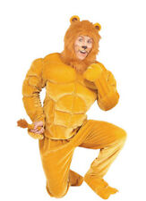Macho Lion Halloween Costume for Adults