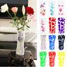 5 Pcs Plastic Unbreakable Foldable Reusable Flower Home Decor Vase US