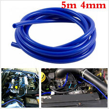 Blue 4mm Silicone Vacuum Hose Tube Pipe Hose Turbo Boost Water Air Coolant Valve