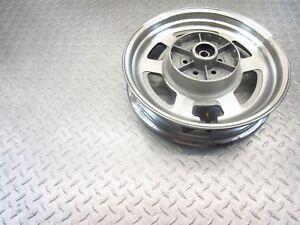 2009 09-12 HYOSUNG GV250 AQUILA GV 250 REAR WHEEL RIM STRAIGHT VIDEO 15X3 OEM