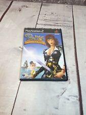 PS2 Piratas: la leyenda de Negro Kat juego PlayStation dos probado Manual Completo