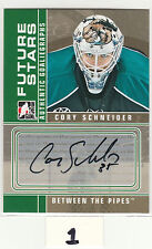 2008-09 Between The Pipes Autographs #ACS Cory Schneider RC-year