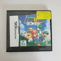 Nintendo DS Super Mario DS Rated (G) Adventure Video Game Tested Working