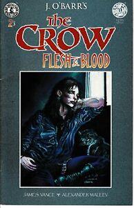 The Crow Flesh and Blood Part 2 Jun 96 VF Kitchen Sink