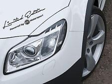 Limited Edition by Fiat Motorsport auto pegatinas sticker lámina car Sport Mind