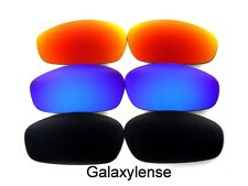 Galaxy Replacement Lenses For Oakley Whisker Sunglasses Black&Blue&Red Polarized